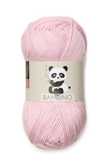 Viking of Norway Bambino Garn Bomullsmix 50g Ljusrosa 465