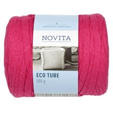Novita Eco Tube Garn Bomullsmix 500 g Rosa 518