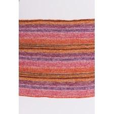 Rico, Creative Melange Lace, Garn, Bomullsmiks, 50 g, Purple-Orange 003