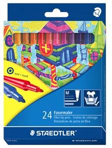 Noris Club® 24-pack barn-tuschpennor för färgläggning i pappask