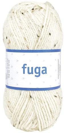 Fuga Garn Ullmix 50g Vintervit Tweed (60174)