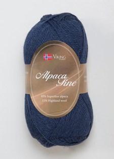 Viking of Norway Alpaca Fine Garn Alpackamix 50 g marin 627