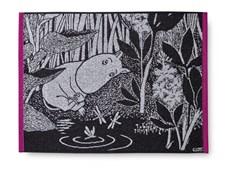 Finlayson Handduk Drömmande Mumintroll 50x70 cm Fuchsia