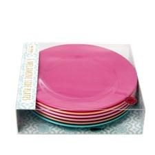 Rice LBC print Tallrikar 6-pack D: 20 cm Melamin Multifärg