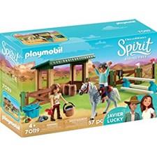 Ridarena med Lucky och Javier, Playmobil (70119)