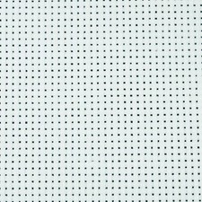 Aidastoff, str. 50x50 cm, hvit, 43 ruter pr. 10 cm   , 1stk.