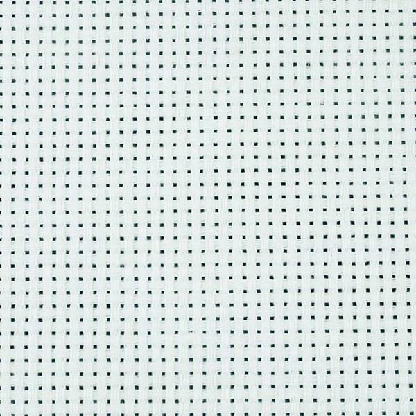 Aida-kangas, koko 50x50 cm, valkoinen, 43 ruutua per 10 cm, 1kpl