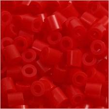 Putkihelmet, koko 5x5 mm, aukon koko 2,5 mm, 1100 kpl, punainen (19)