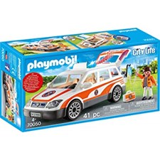 Utryckningsfordon med siren, Playmobil (70050)