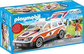 Utryckningsfordon med siren  Playmobil (70050) - playmobil