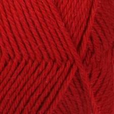 Drops Lima Uni Colour Lanka Villasekoitus 50g Red 3609