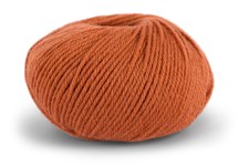 Knit At Home Classic SW Wool Garn Ullgarn 50 g Brent Orange 422