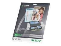 Lamineringsficka LEITZ A4 UDT 80 mic. 25/FP