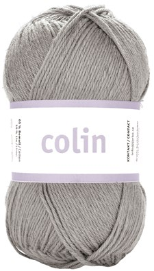 Järbo Colin Garn Bomullsmix 50g Stone Grey (28107)