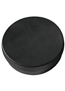 Magnetknappar 40 mm Svart 4 st