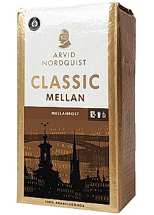 Kaffe Arvid Nordquist Classic Mellanrost 500 g Bryggmalet