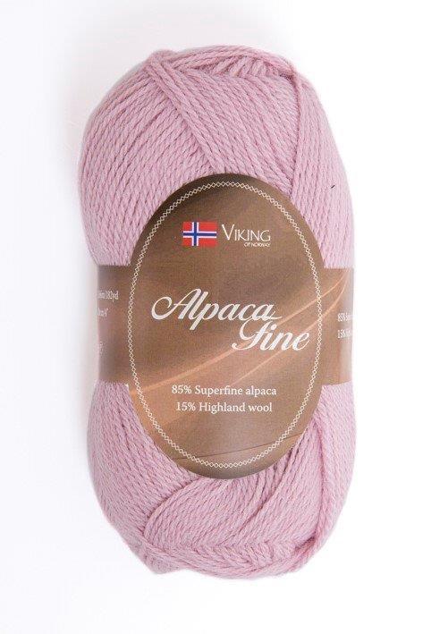Viking of Norway Alpaca Fine 50 gr pastelliroosa