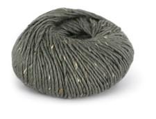 Du store Alpakka Tweed Garn Ullmix 50 g Grågrønn 103