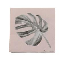Bloomingville Servetter Sooji 20-pack 33 x 33 cm Rosa
