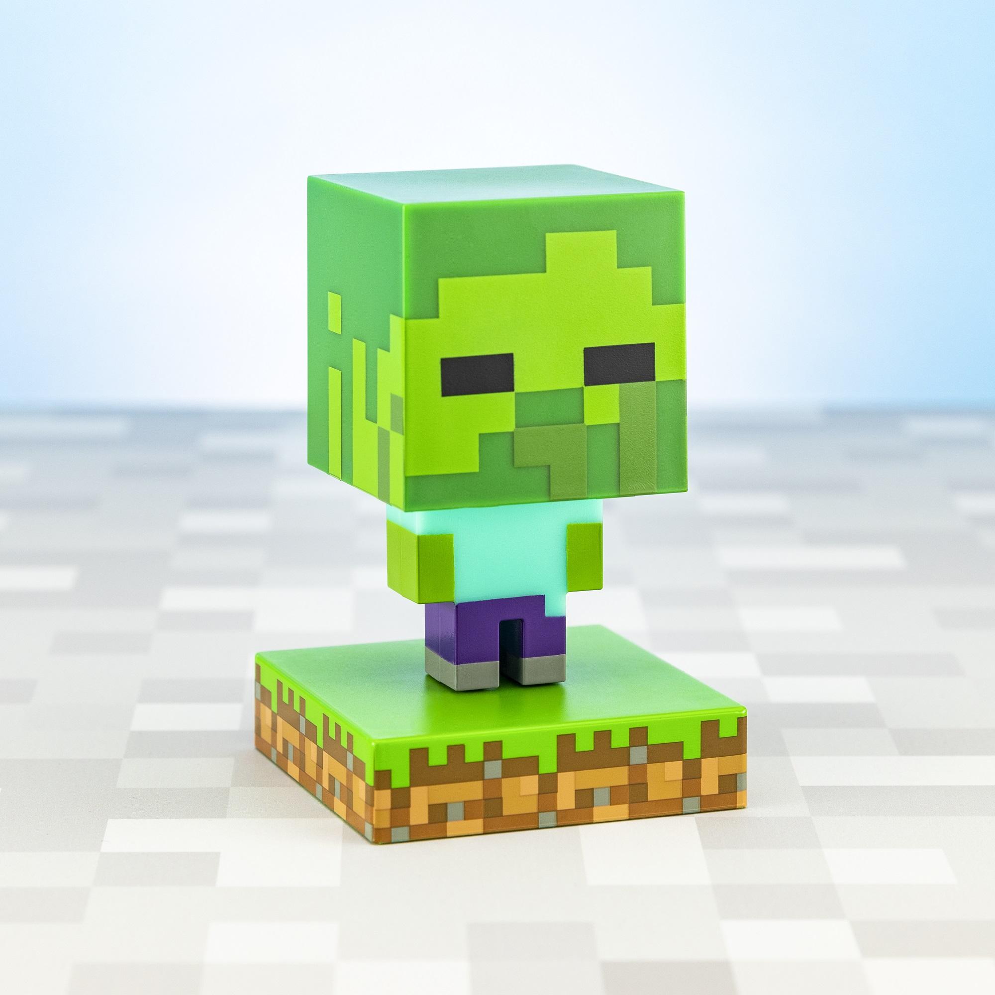 Minecraft Zombie 3D Lampa