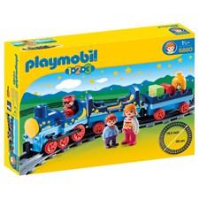 Nattåg med tågbana, Playmobil 1.2.3 (6880)