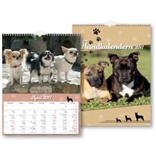Väggkalender 2017 Hund Burde