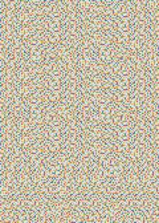 Decoupagepapir Pixler Flerfargede, 30 x 42 cm, 1 blad