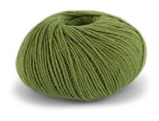 Du store Alpakka Wool Garn Ullmix 50 g Lindegrønn 518