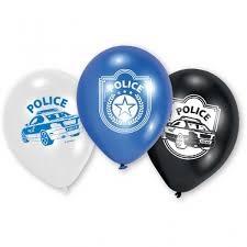 Polis latex ballonger, 6 st