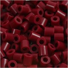 Rörpärlor 5x5 mm 1100 st Vinröd (4)