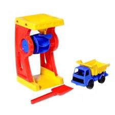 Sand- og vannhjul, Plasto
