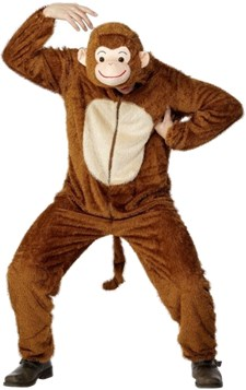 Monkey Costume, Adult