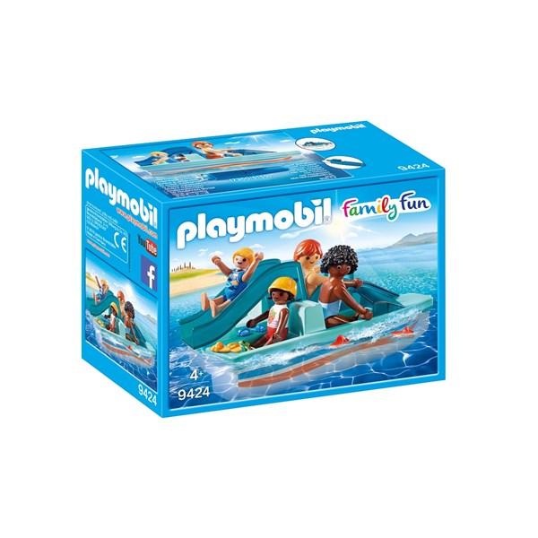 Trampbåt med rutschkana  Playmobil Family Fun (9424) - playmobil