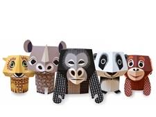 Pappersfigurer, Save our Species, Eco, Mibo