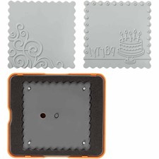 Fiskars Fuse® - Medium Design Set, koko  10x12  cm, 1 kpl
