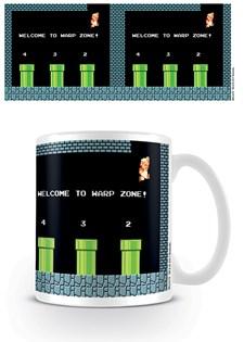 Super Mario Bros Mugg Warp Zone