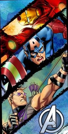 Badlakan 140x70 cm, Avengers