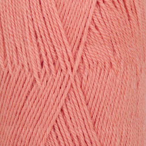 Drops Flora Uni Colour Garn Ullmix 50g Peach Pink 20