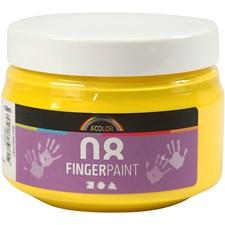 Fingermaling, 150 ml, gul