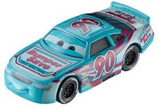 Cars 3 Diecast 1-pack Ponchy Wipeout