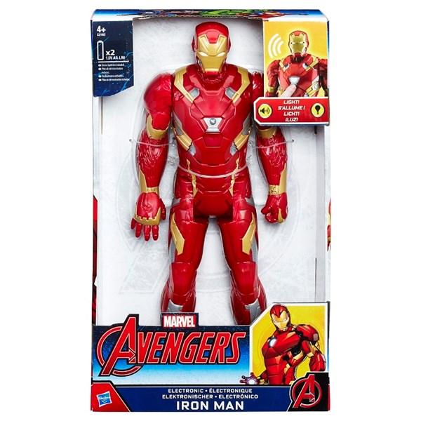 Titan Hero Electronic Iron Man  30 cm  The Avengers - actionfigurer