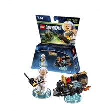 LEGO Dimensions - Fun Pack - Doc Brown (Back to the Future)