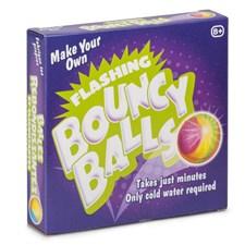 Lag dine egne blinkende sprettballer