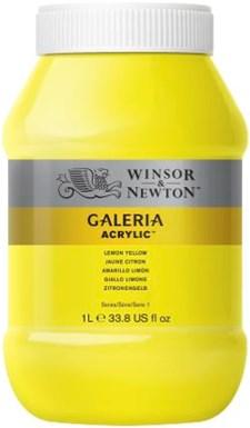 Galeria Akryl 1 liters 346 Lemon gul