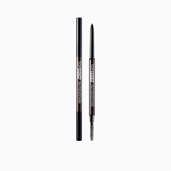 KISS Top Brow Fine Precision Pencil Deep Dark Brown