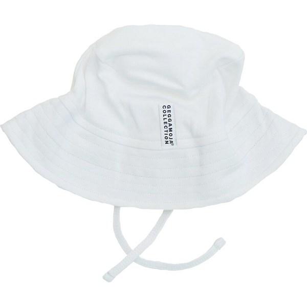 Solhatt  Vit  Geggamoja - badkläder & uv-kläder