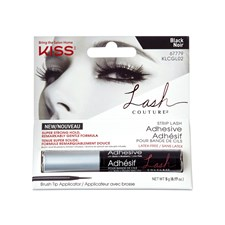 KISS Lash Adhesive brush on Black 5 g