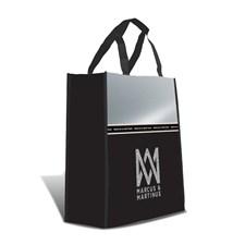 Shopping bag, Silver Line, Marcus & Martinus