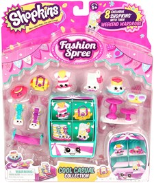 Cool Casual Collection, Fashion Spree, Shopkins