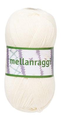 Mellanraggi Garn Ullmix 100g Natur (28201)
